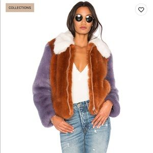 LPA faux fur jacket 413